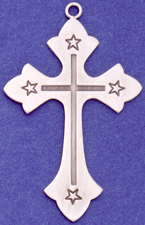C252 Large Ornate Cross