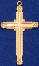 C333 Large Ornate Cross