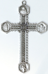 C353 Large Ornate Cross