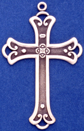 C372 Lagre Ornate Cross