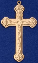 C391 Large Ornate Cross
