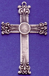 C392 Larg Ornate Cross