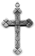 C587 Medium Ornate Cross