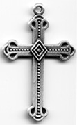 C590 Medium Ornate Cross
