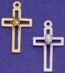 C231 cross with birthstone