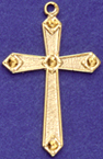C61 cross with no stones
