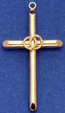C220 hollow wedding cross