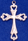 C435 heart cross