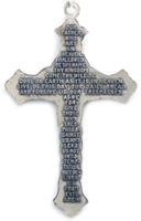 C442 Our Father Prayer Cross