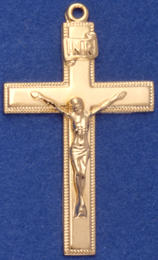 C187 Large Cross with Corpus