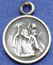 Small saint christopher medal