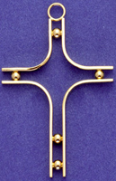 C312 large wire form cross